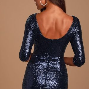 Lulu's Dresses - LULU's Sequin Dress